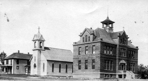 st-marys-catholic-parsonage-church-school-1909