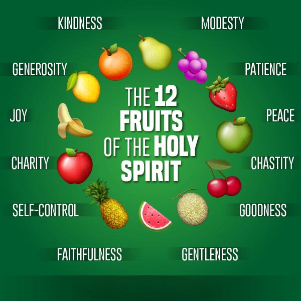 fruits of the holy spirit dried fruits
