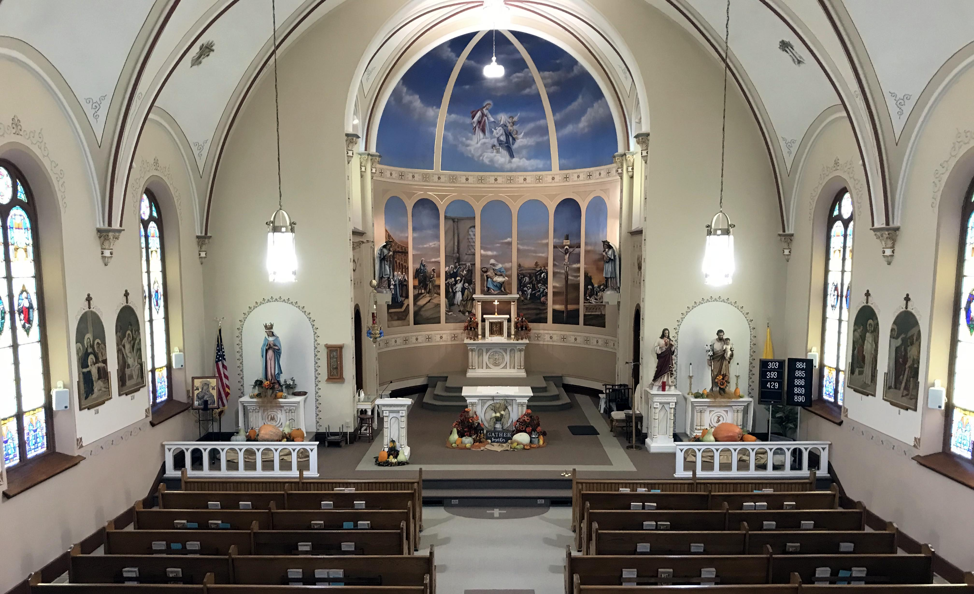 Weekend Mass Times St Mary Of The Seven Dolors